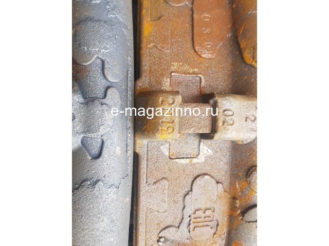 Колодка тормозная локомотивная тип М ТУ 32-ЦТВР 165-87 чертеж 44-52-87-01 ГОСТ 30249-97 - 2