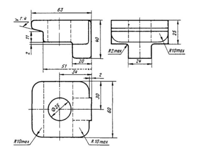 Клемма КС1 ТУ 32 ЦП 494-76 лапка удержки. - 2