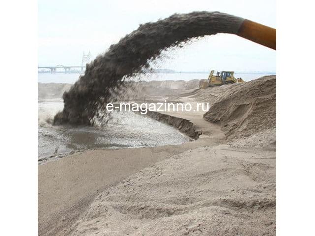 Добыча песка земснарядом - 1