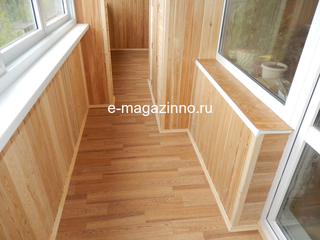 Отделка балкона, лоджии, утепление, ремонт. Красноярск - 1
