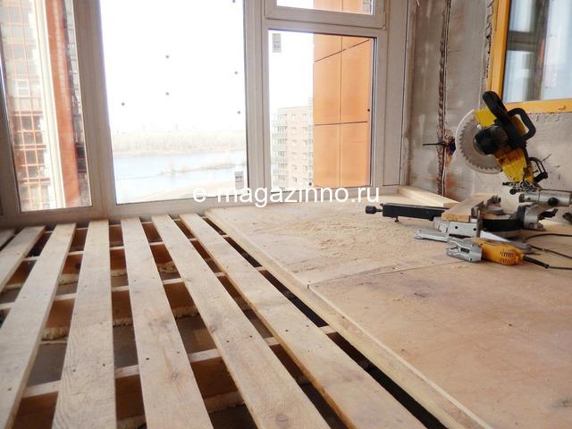 Отделка балкона, лоджии, утепление, ремонт. Красноярск - 2