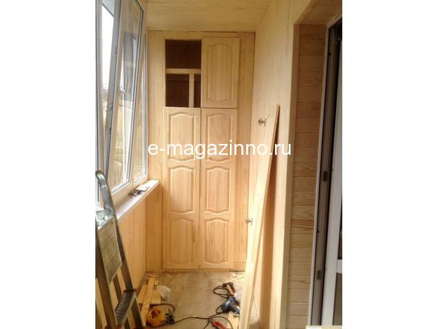 Отделка балкона, лоджии, утепление, ремонт. Красноярск - 5