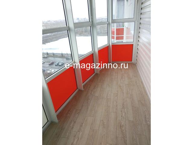 Отделка балкона, лоджии, утепление, ремонт. Красноярск - 6