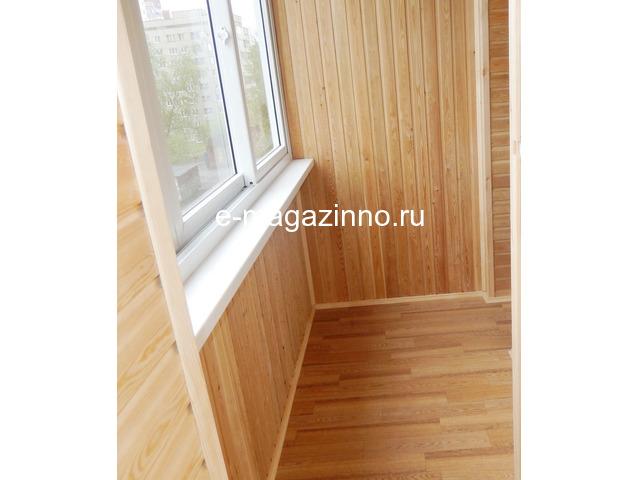 Отделка балкона, лоджии, утепление, ремонт. Красноярск - 7