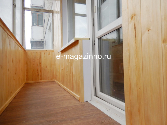 Отделка балкона, лоджии, утепление, ремонт. Красноярск - 8