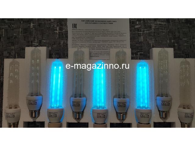 Бактерицидная лампа E27 - 4