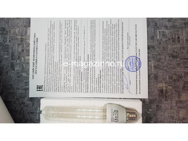Бактерицидная лампа E27 - 6