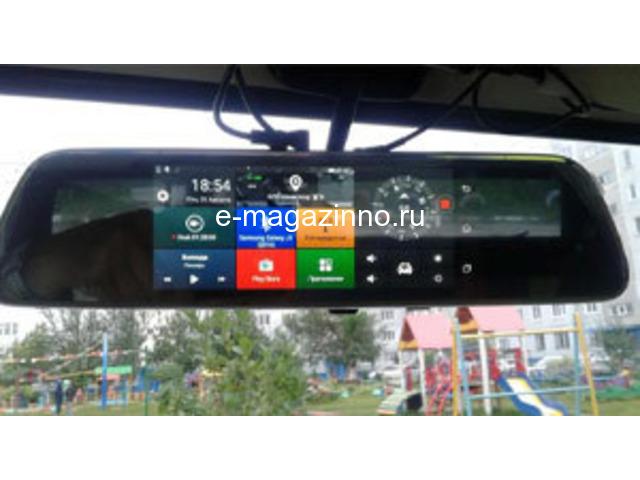 Fugicar FC8 зеркало-бортовой компьютер-видео регистратор - 1
