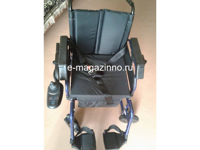 Электрическая инвалидная коляска. - 1