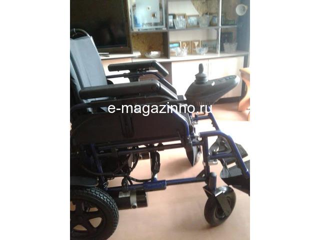 Электрическая инвалидная коляска. - 3