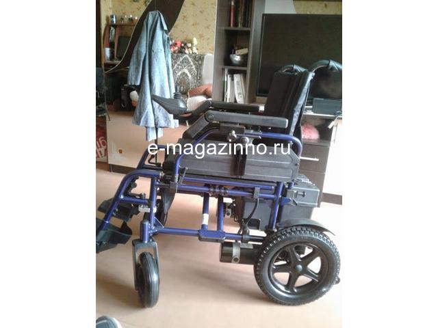 Электрическая инвалидная коляска. - 4