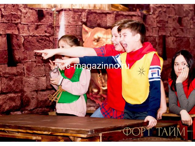 Форт Боярд квест для детей и взрослых - 1