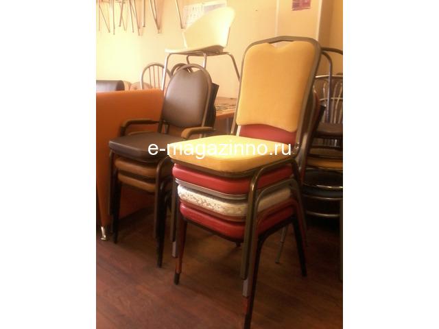 Классические и складные банкетные стулья. - 7