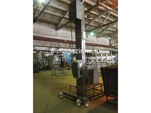 Столбовой мачтовый подъёмник-опрокидыватель передвижной - 1