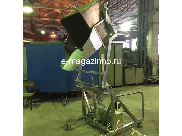 Подъёмник - опрокидыватель гидравлический, передвижной - 1