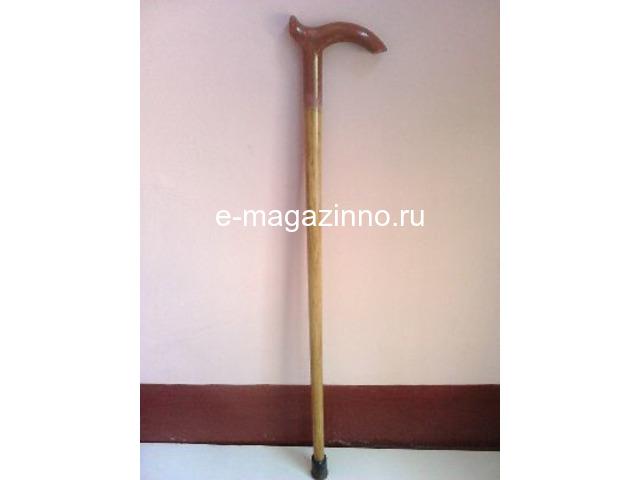 Трость деревянная, б/у, 58 см - 1