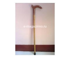 Трость деревянная, б/у, 58 см - Изображение 1